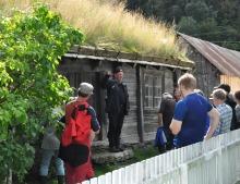 Lærdalsøyri, Nasjonalt museumsnettverk for Kulturlandskap,
